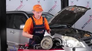 Τοποθέτησης Αμορτισέρ πίσω HONDA CR-V II (RD_): δωρεάν βίντεο