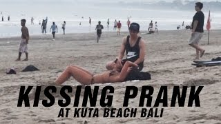 Video Kissing Prank at Kuta Beach Bali! download MP3, 3GP, MP4, WEBM, AVI, FLV Februari 2018