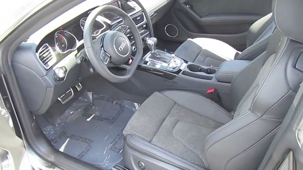 2014 Audi A5 2 0t S Line Package Review Interior Engine