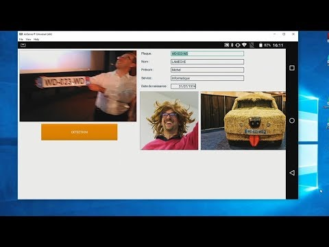 D�fi 3 minutes : Lire des plaques d † immatriculation sous Windows et sous Android avec WINDEV