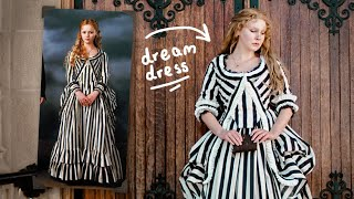 Making my DREAM DRESS! (aka Katrina Van Tassel's Stripey Dress from 'Sleepy Hollow')
