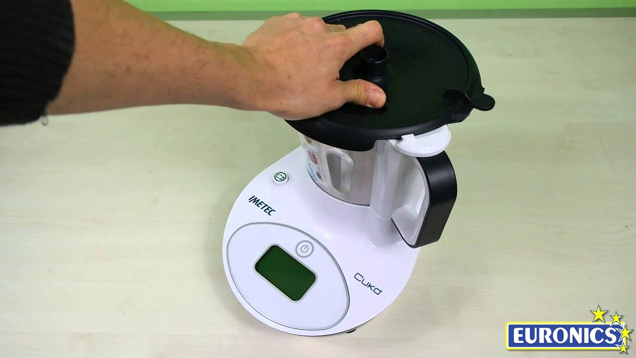 Imetec Cuko Prezzo Mediaworld.Imetec Robot Da Cucina Cuko 7780 Youtube