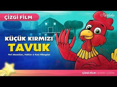 Küçük Kırmızı Tavuk çizgi film masal 38 - Adisebaba Çizgi Film Masallar
