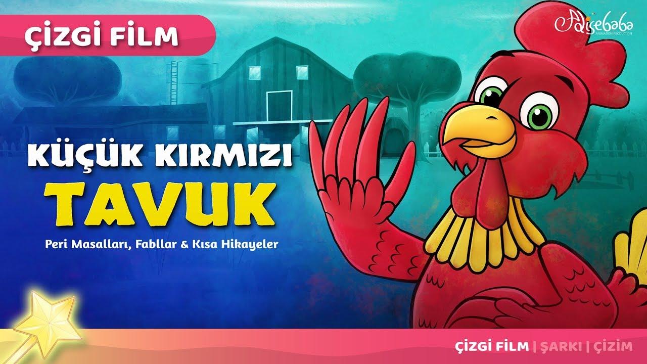 Adisebaba Çizgi Film Masallar - Küçük Kırmızı Tavuk