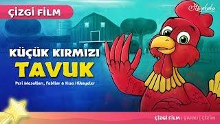 Adisebaba Çizgi Film Masallar Küçük Kırmızı Tavuk