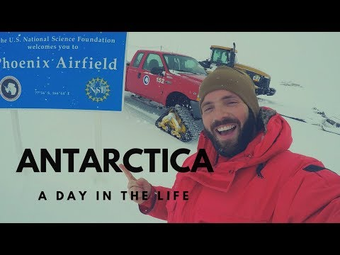 A Day In The Life - McMurdo Station, Antarctica (ATC TECH)