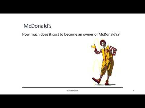 How to Trade the Stock Market for School Students - McDonalds Stock