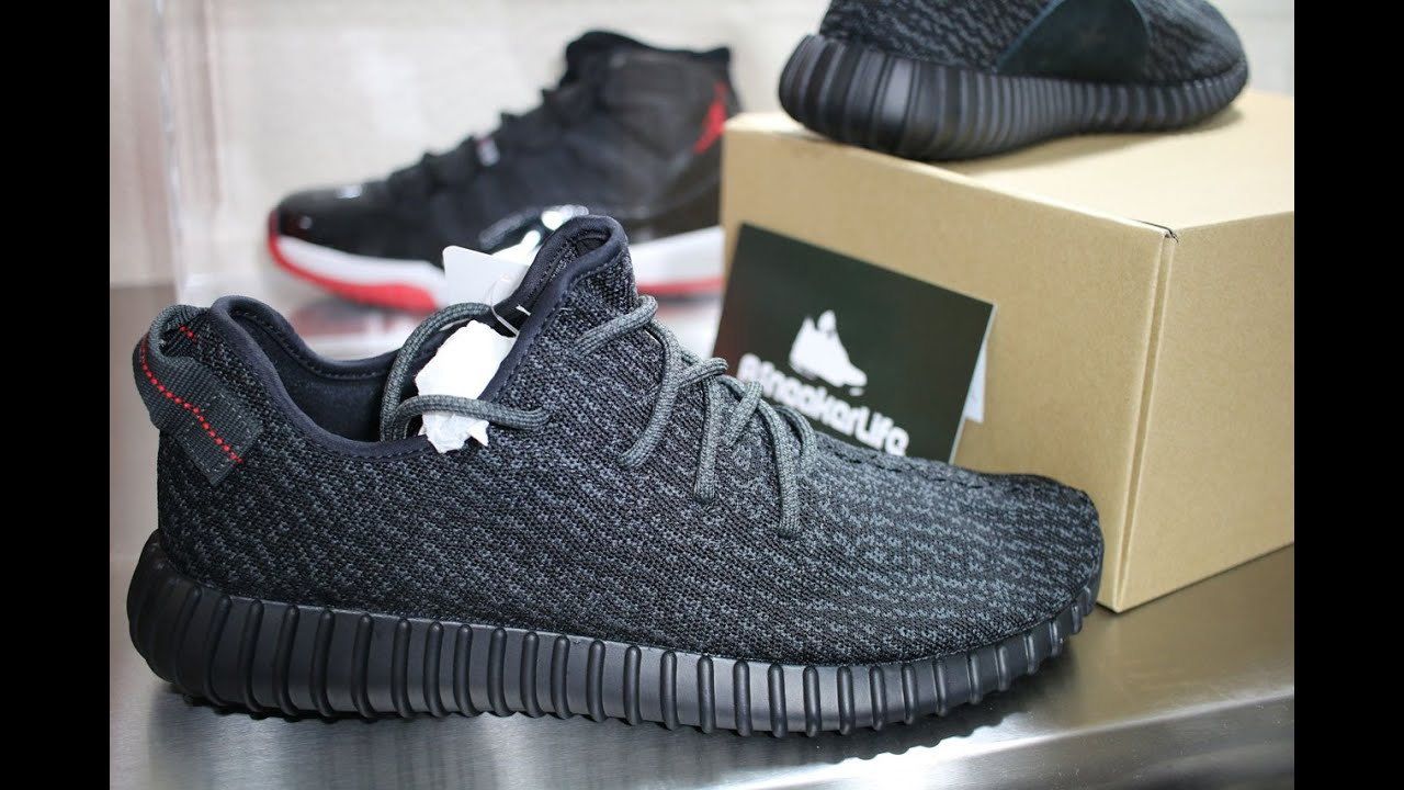 b6d73b73318d1 ... canada adidas yeezy 350 boost pirate black unboxing video at  asneakerlife youtube 1bae0 9b189