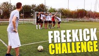 ⚽ FREEKICK CHALLENGE! w/ IlluminatiCrew
