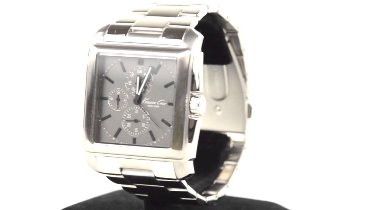 kenneth cole new york square faced watch for men kenneth cole new york square faced watch for men