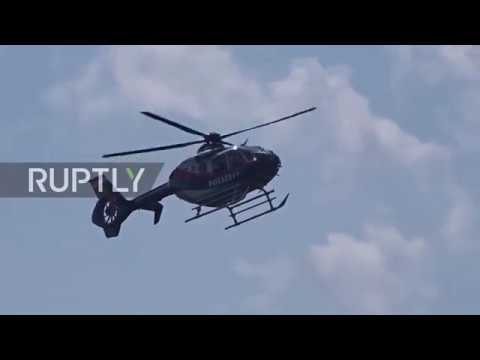 Austria: Putin arrives for foreign minister's wedding in Gamlitz