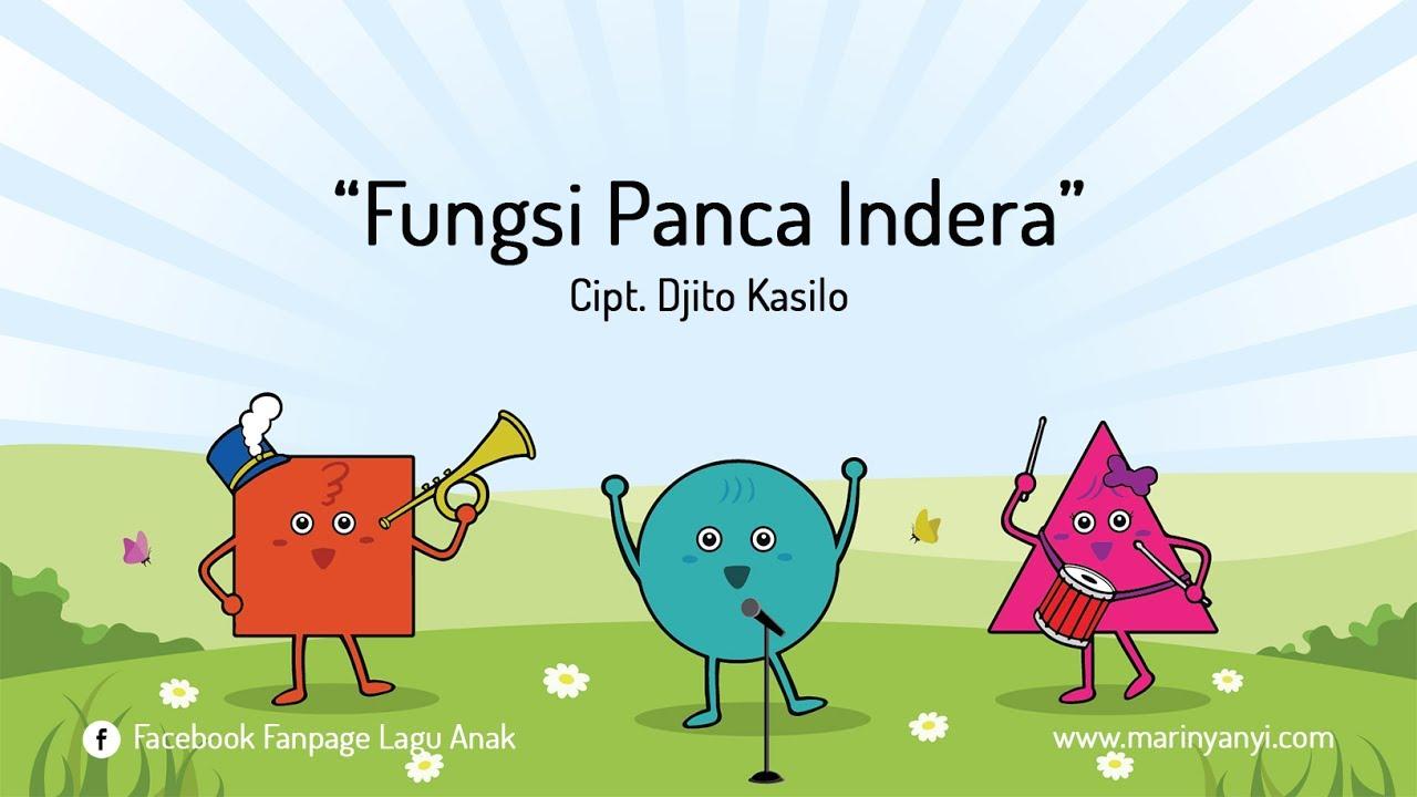 Lagu Anak Fungsi Panca Indera Youtube