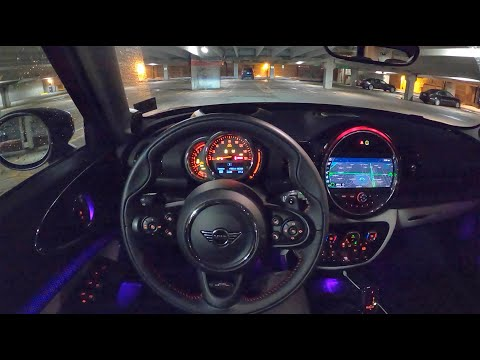 2020 Mini Cooper S Clubman - POV Night Drive & Final Thoughts