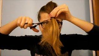 як самої зробити стрижку на довге волосся