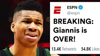 Why Giannis Antetokounmpo Won't Last In The NBA Long