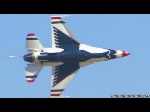 USAF Thunderbirds at California Capital Airshow 2012