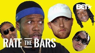 Curren$y Rates Mac Miller! + B.G., Tyga, Wiz Khalifa | Rate The Bars