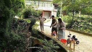 菊子帶廣東的朋友去釣魚,朋友說在我們這裡經歷了好多第一次【菊子的鄉味】