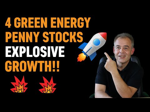 TOP 4 Green Energy Penny Stocks TO BUY NOW - Watch ASAP Before It's TOO LATE!!