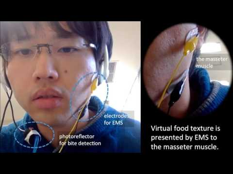Study on Control Method of Virtual Food Texture by Electrical Muscle Stimulation