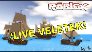 ROBLOX LIVE with you!! Come!