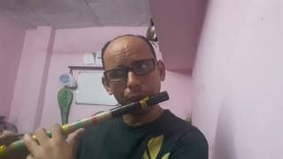 Koi jab Tumhara Hriday tod de on flute