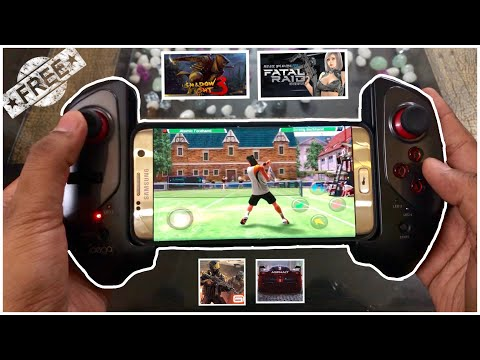 Top 5 Free Android Games That Support IPega / Non MFI Bluetooth Gamepad Joystick Controllers (Part1)