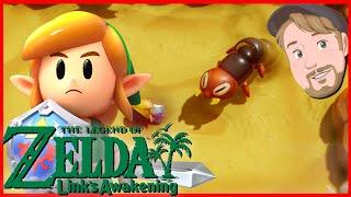 En mini boss i Yarna desert! - The Legend of Zelda: Link's Awakening - HERO Mode - Del 11