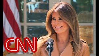 Melania Trump unveils 'Be Best' campaign