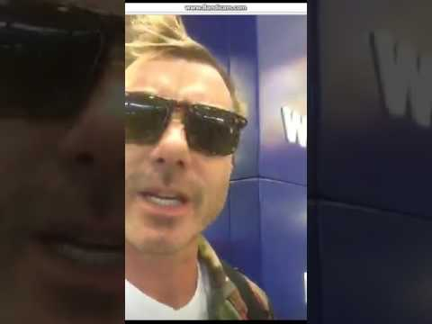 Gavin Rossdale Periscope - 28/3/2017 (At The Station/On The Train)