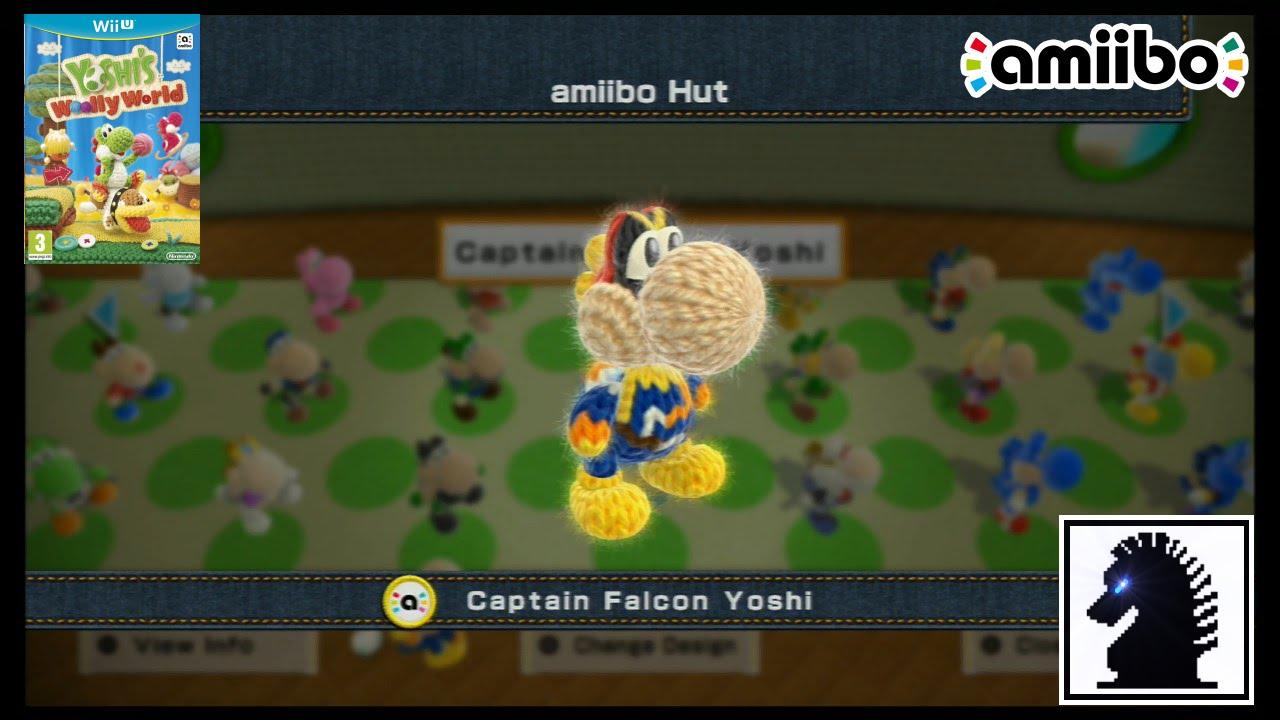Wii U Amiibo Yoshi S Woolly World Super Smash Bros