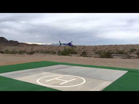 AS350 test flight, raw with no canopy