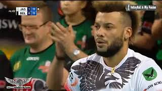 5 aces in a row by Hidalgo vs. Belchatow
