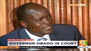 Governor Obado in court #Daybreak