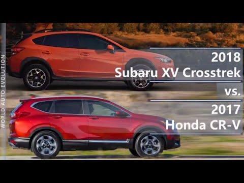 2018 Subaru XV Crosstrek vs 2017 Honda CR-V (technical comparison)