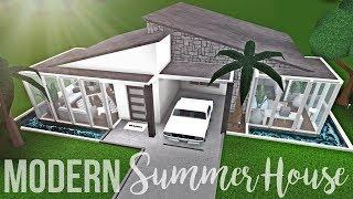 Bloxburg: Modern Summer House 51K (No Gamepasses)