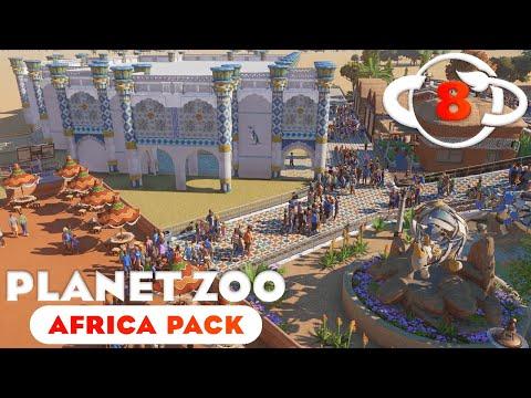 Planet Zoo Africa Pack - Ep. 8 - African Penguin Aquarium (part 1) |