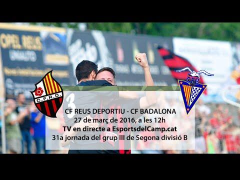 Reemissió | CF Reus Deportiu - CF Badalona