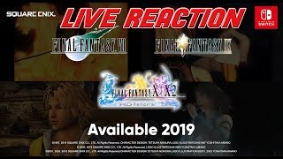 Final Fantasy XII, VII, IX, X, and X2 coming to Nintendo Switch!