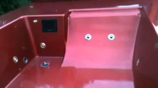 Hot tub truck