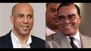 "LOUIS FARRAKHAN? """"CORY BOOKER"""" SAID HE WILL NOT MEET WITH THE KING"
