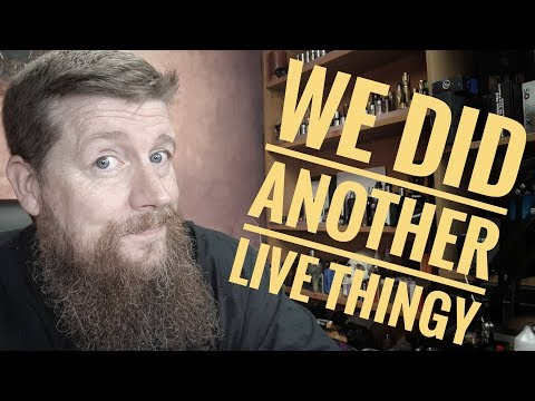 Another Live vlog happened, Mr Todd joined in as well!