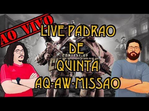 Live de Quinta - AW AQ Missão e Ticuliro | Torneio de Campeões