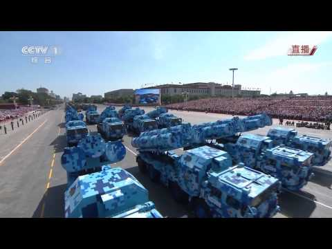 China Chinese army military parade equipment weapons armoured combat vehicles V Day Parade 3 Septemb