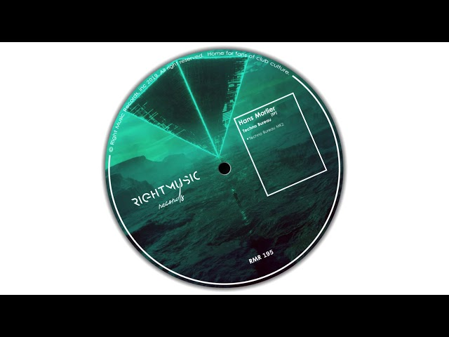 Hans Morlier - Techno Bureau (Original Mix) [Right Music Records]