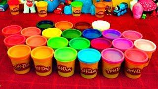 Play-Doh Surprise Eggs Disney Pixar Cars Toys Kinder Super Mario Peppa Pig Angry Birds [Trailer #2]