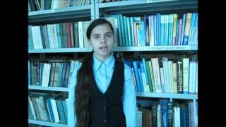 Стихи русских поэтов читают учащиеся Серёдкинской школы.