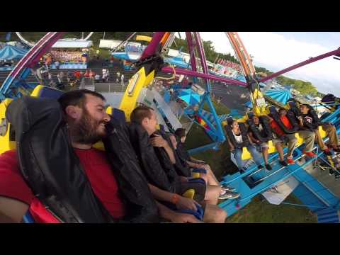 Swing and Spin ride at Cabarrus County Fair 2014