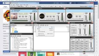 Como Programar tu música de forma automática Y Pisador en Sam Broadcaster