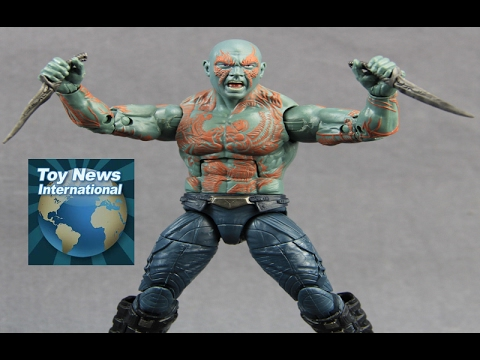 """Marvel Legends 6"""" Guardians Of The Galaxy Vol 2. Drax Figure Review"""